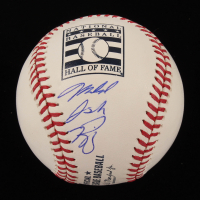 Mike Piazza Signed OML Hall Of Fame Logo Baseball (PSA COA) at PristineAuction.com