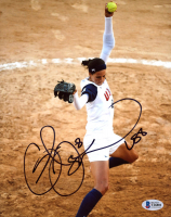 """Cat Osterman Signed Team USA 8x10 Photo Inscribed """"US8"""" (Beckett COA) at PristineAuction.com"""
