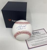 "DJ LeMahieu Signed OML Baseball Inscribed ""Le Machine"" (Fanatics Hologram) at PristineAuction.com"