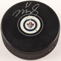 Mark Scheifele Signed Jets Logo Hockey Puck (COJO COA) at PristineAuction.com