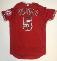 Albert Pujols Signed Angels Jersey (Fanatics Hologram) at PristineAuction.com