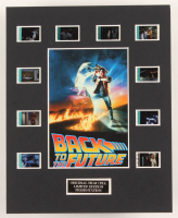 """""""Back to the Future"""" LE 8x10 Custom Matted Original Film / Movie Cell Display at PristineAuction.com"""