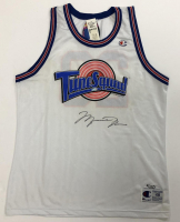 "Michael Jordan Signed ""Space Jam"" Tune Squad LE Jersey (UDA COA) at PristineAuction.com"
