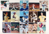 Lot of (14) Signed Baseball 8x10 Photos with Larry Bigbie (JSA ALOA) at PristineAuction.com