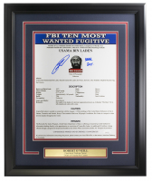 "Robert J. O'Neill Signed 16x20 Custom Framed Poster Inscribed ""Never Quit!"" (JSA COA) at PristineAuction.com"