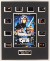 """""""Star Wars: Return of the Jedi"""" LE 8x10 Custom Matted Original Film / Movie Cell Display at PristineAuction.com"""