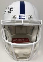 """Peyton Manning Signed Colts Full-Size Authentic On-Field Speed Helmet Inscribed """"SB XLI MVP"""" (Fanatics Hologram) at PristineAuction.com"""
