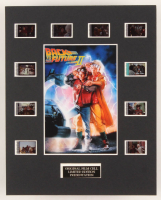 """""""Back to the Future Part II"""" LE 8x10 Custom Matted Original Film / Movie Cell Display at PristineAuction.com"""