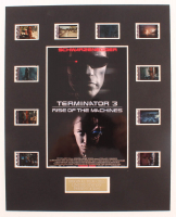 """""""Terminator 3: Rise of the Machines"""" LE 8x10 Custom Matted Original Film / Movie Cell Display at PristineAuction.com"""