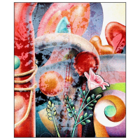 "Yankel Ginzburg Signed ""Summer Heat Wave"" Limited Edition 22x28 Serigraph at PristineAuction.com"