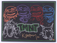 "Kevin Eastman Signed ""Teenage Mutant Ninja Turtles"" LE 18x24 Illustration On Canvas (Sportscards LOA) at PristineAuction.com"