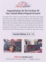 "Kevin Eastman Signed ""Teenage Mutant Ninja Turtles"" LE 18x24 Illustration On Canvas (Sportscards LOA) at PristineAuction.com"
