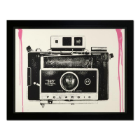 """Mr. Brainwash Signed """"It's Your Birthday (Pink)"""" Limited Edition 45x57 Custom Framed Silk Screen #PP 3/5 at PristineAuction.com"""