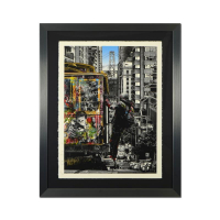 "Mr. Brainwash Signed ""San Francisco"" Limited Edition 38x30 Custom Framed Silk Screen at PristineAuction.com"