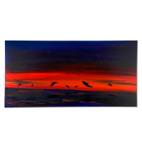 "Wyland Signed ""Secret Waters"" 24x48 Original Painting on Canvas at PristineAuction.com"