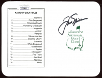 Jack Nicklaus Signed Augusta National Golf Club Scorecard (JSA COA) at PristineAuction.com