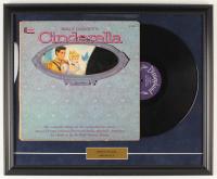 "Walt Disney's Story of ""Cinderella"" 18x22 Custom Framed Vinyl Record LP Display at PristineAuction.com"