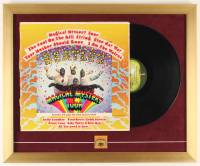 "The Beatles ""Magical Mystery Tour"" 18x22 Custom Framed Vinyl Record Display with Album Pin at PristineAuction.com"
