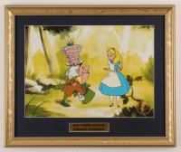 """Alice In Wonderland"" 15x18 Custom Framed Animation Serigraph Display at PristineAuction.com"