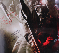 """My Bloody Valentine"" 27x40 Movie Poster Signed by (5) with Richard Walters, Chris Carnel, Betsy Rue, Todd Farmer & Tom Atkins with Inscriptions (Beckett LOA) at PristineAuction.com"