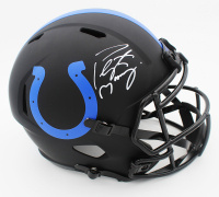 Peyton Manning Signed Colts Full-Size Eclipse Alternate Speed Helmet (Fanatics Hologram) at PristineAuction.com