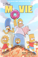 """Matt Groening Signed """"The Simpsons Movie"""" 24x35 Movie Poster Inscribed """"Fast Cartoonist"""" & """"July 24, 2007"""" (Beckett COA) at PristineAuction.com"""