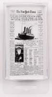Authentic Coal From Titanic Wreckage with Display Case (RMS Titanic COA) at PristineAuction.com