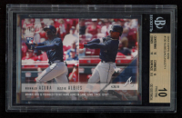 Ronald Acuna Jr. / Ozie Albies 2018 Topps Now #130 RC (BGS 10) at PristineAuction.com
