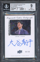 Shohei Ohtani 2018 Exquisite Collection '09-10 Rookie Tribute Autograph #09TSO (BGS 9) at PristineAuction.com