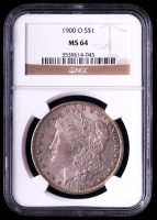 1900-O Morgan Silver Dollar (NGC MS64) (Toned) at PristineAuction.com