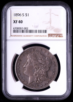 1896 Morgan Silver Dollar (NGC XF40) at PristineAuction.com