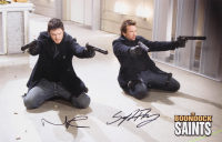 "Norman Reedus & Sean Patrick Flannery Signed ""The Boondock Saints"" 11x17 Photo (JSA COA) at PristineAuction.com"