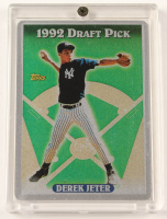 Derek Jeter LE The Keeper Series Card #2 With Display Case at PristineAuction.com