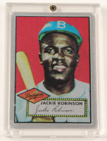 Jackie Robinson LE The Keeper Series Card #6 With Display Case at PristineAuction.com
