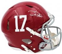 Jalen Hurts Signed Alabama Crimson Tide Full-Size Authentic On-Field Speed Helmet (Radtke COA) at PristineAuction.com