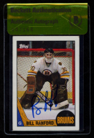 Bill Ranford Signed 1987-88 Topps #13 RC (Beckett Encapsulated) at PristineAuction.com