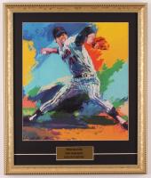 "LeRoy Neiman ""Tom Seaver"" 16x19 Custom Framed Print Display at PristineAuction.com"