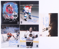Lot of (5) Bobby Hull Signed Blackhawks 8x10 Photos with Inscriptions (Hull Hologram) at PristineAuction.com