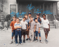 """""""The Sandlot"""" 16x20 Photo Cast-Signed by (6) with Tom Guiry, Marty York, Shane Obedzinski, Victor DiMattia, Chauncey Leopard & Brandon Adams with Multiple Character Inscriptions (Beckett COA) at PristineAuction.com"""