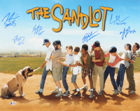 """The Sandlot"" 16x20 Photo Cast-Signed by (6) with Tom Guiry, Marty York, Shane Obedzinski, Victor DiMattia, Chauncey Leopard & Brandon Adams with Multiple Character Inscriptions (Beckett COA) at PristineAuction.com"