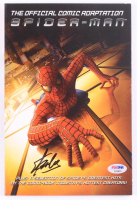 "Stan Lee Signed 2001 ""Spider-Man"" Marvel Comic Book (PSA COA) at PristineAuction.com"