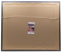 Mike Tyson Signed 22x27 Custom Framed Photo Display (JSA COA) at PristineAuction.com