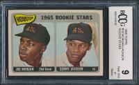 1965 Topps #16 Rookie Stars/Joe Morgan RC / Sonny Jackson RC (BCCG 9) at PristineAuction.com
