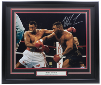 Mike Tyson Signed 22x27 Custom Framed Photo (PSA COA) at PristineAuction.com