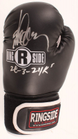 "Gerry Cooney Signed Ring Side Boxing Glove Inscribed ""28-3-24Ks"" (JSA COA) at PristineAuction.com"