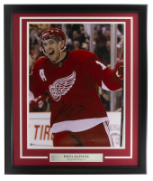 Pavel Datsyuk Signed Red Wings 22x27 Custom Framed Photo (Beckett Hologram) at PristineAuction.com