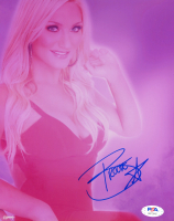 Brooke Hogan Signed 8x10 Photo (PSA COA) at PristineAuction.com