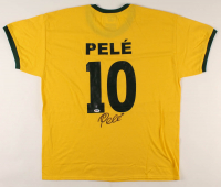 Pele Signed Jersey (PSA & Pele Hologram) at PristineAuction.com