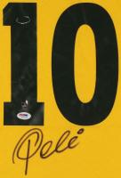 Pele Signed Jersey (PSA & Pele Hologram) at PristineAuction.com