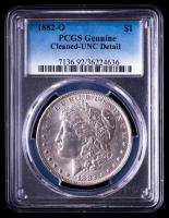 1882-O Morgan Silver Dollar (PCGS UNC Details) at PristineAuction.com